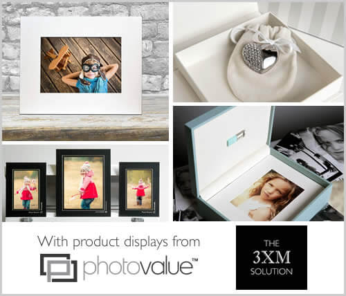 Product Displays from 3XM and Photovalue