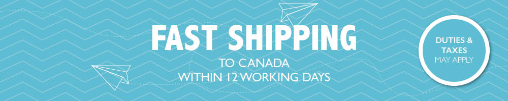 Free Shipping to Canada for orders over $320