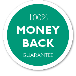 100% Satisfaction Guarantee or your Money Back