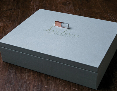 Duck Egg 14x11 Folio Box