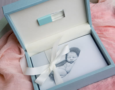 Print & USB Presentation for Newborn Photographers