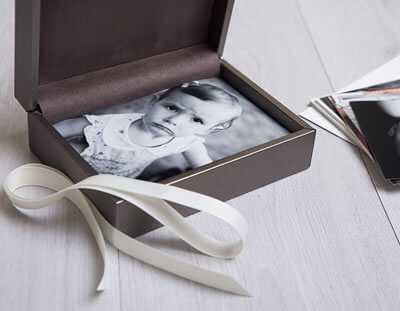 Premium Metallic Print Box for photographers