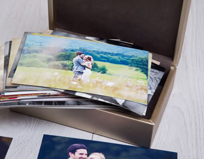 Metallic Print Boxes for Photographers