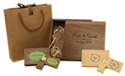 Coffret USB Wood