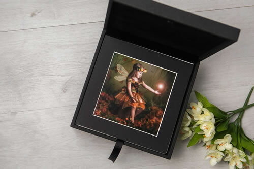 Premium Colours 8x8 Folio Box