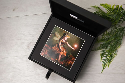 Premium Colours 8x8 XL Folio Box with USB