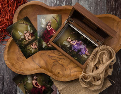 Luxury Wooden Print Box for Professional Photographers