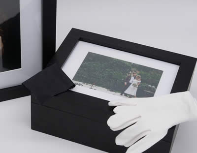 White Gloves & Lens Cloth included