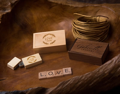 Wooden USB Presentation for Photographers
