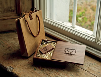 Premium Wood USB Boxes