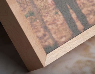 Maple wood photo printed box for Photographers